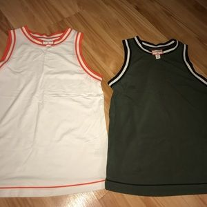 Set of 2 size XS Hunter For Target Tanks